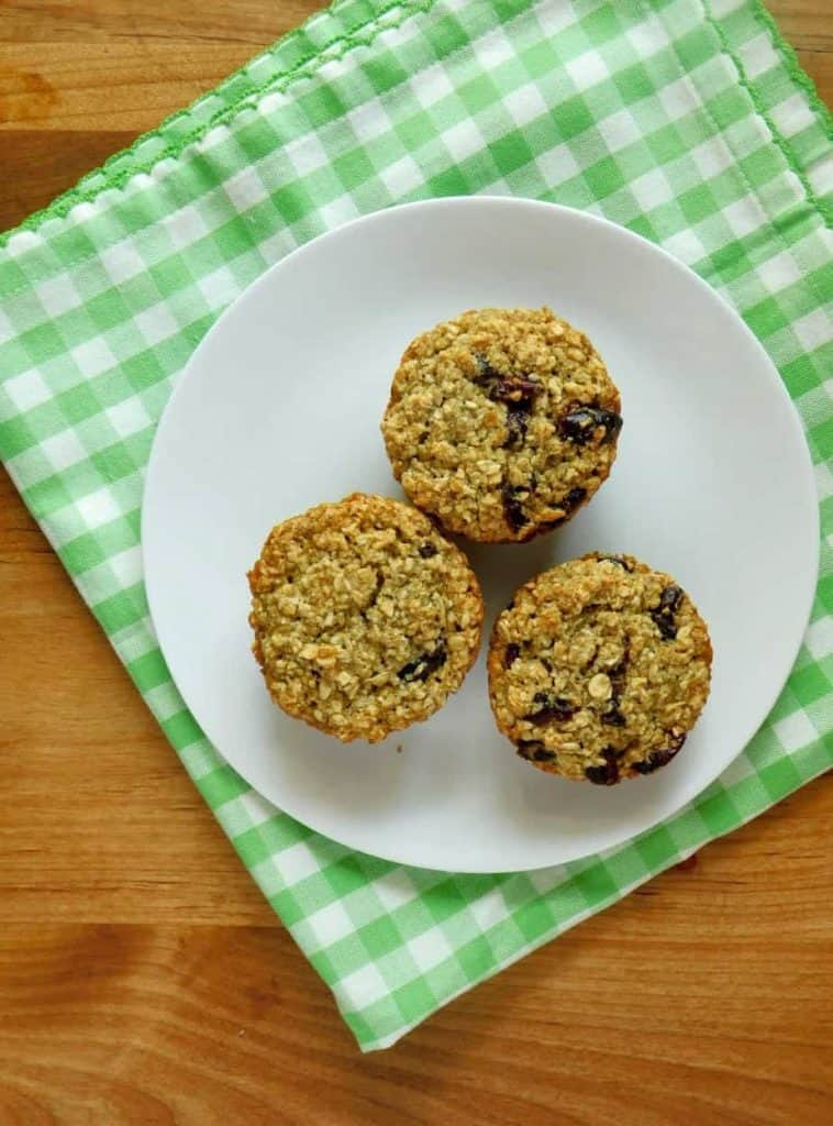 gluten free dairy free cranberry orange muffins ready to eat