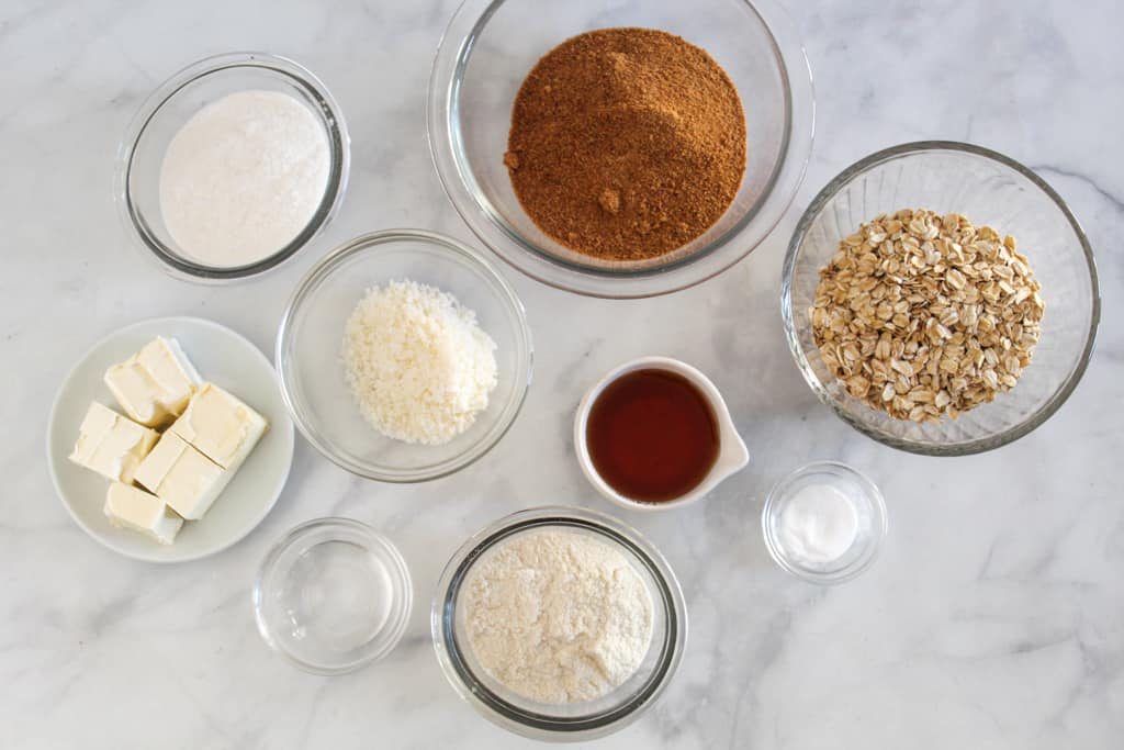 ingredients on the counter