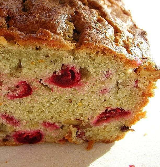 Quick Gluten Free Cranberry Bread