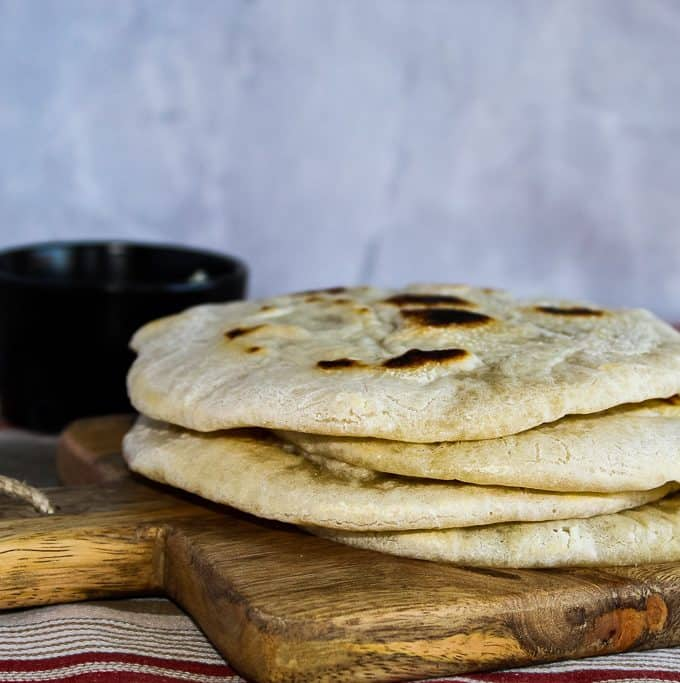 Quick Gluten Free Pita Bread Recipe