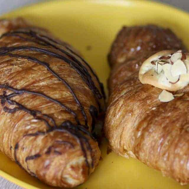 gluten free chocolate croissants