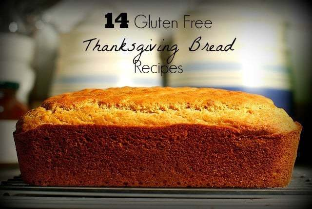 14 gluten free Thanksgiving bread recipes