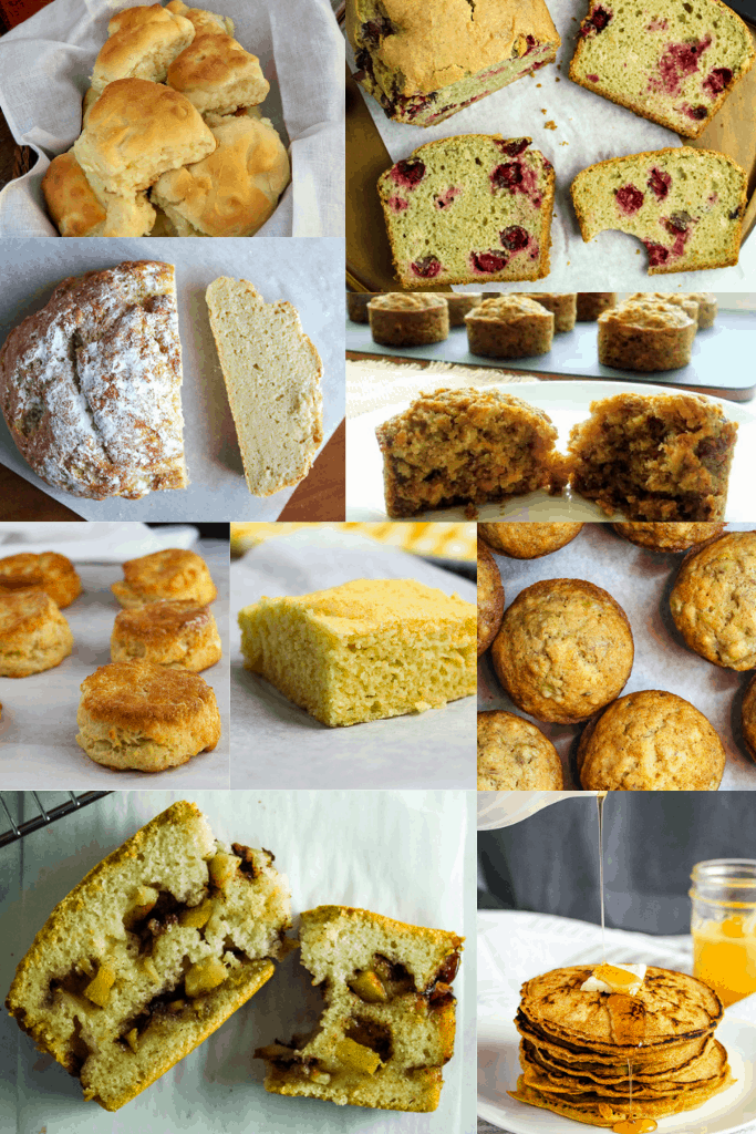 gluten free holiday breads collection