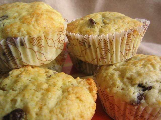 gluten free lemon cranberry muffins
