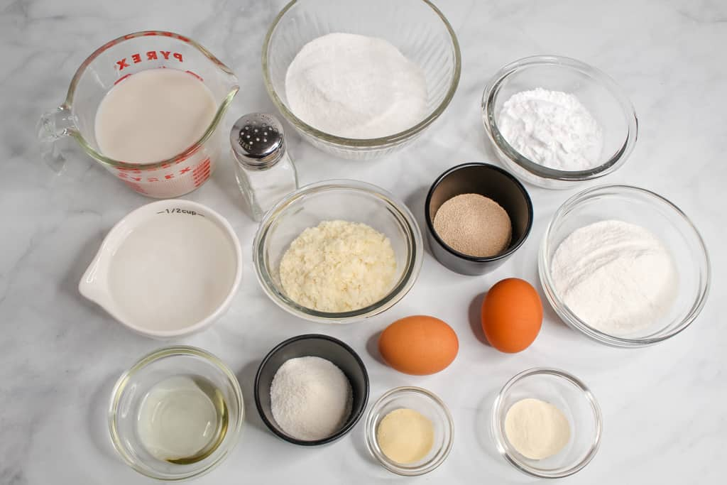 gluten free potato bread ingredients