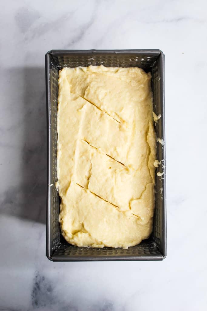gluten free potato bread rising