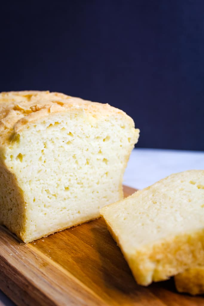 gluten free potato bread sliced
