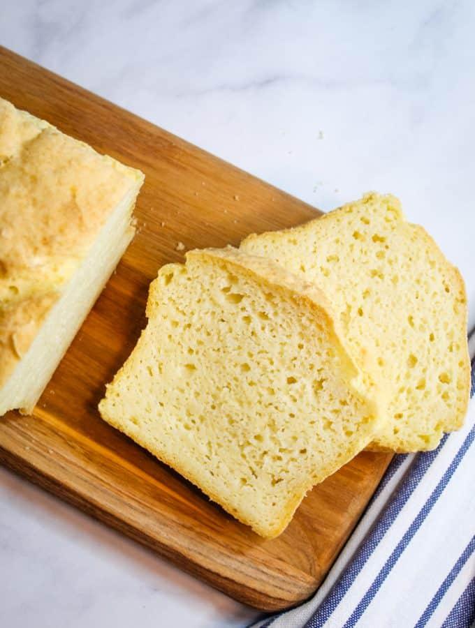 Easy Gluten Free Potato Bread {Dairy Free, Sugar Free}