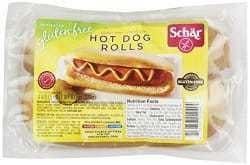 schar brand hot dog buns