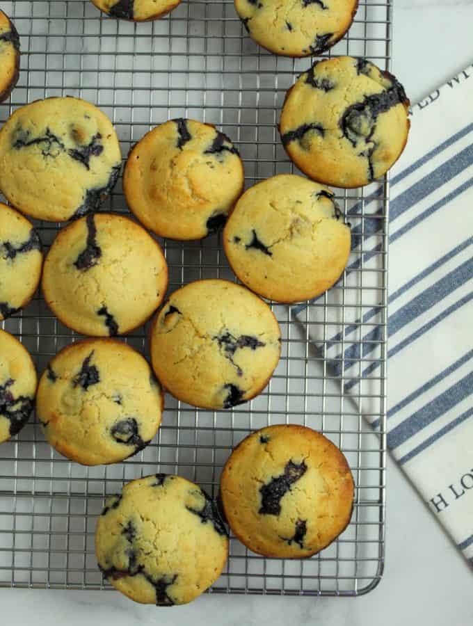 Marvelous Gluten Free Banana Blueberry Muffins