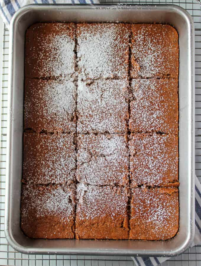 Light and Tender Gluten Free Gingerbread