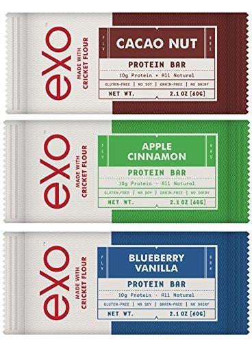 gluten free protein bar variety