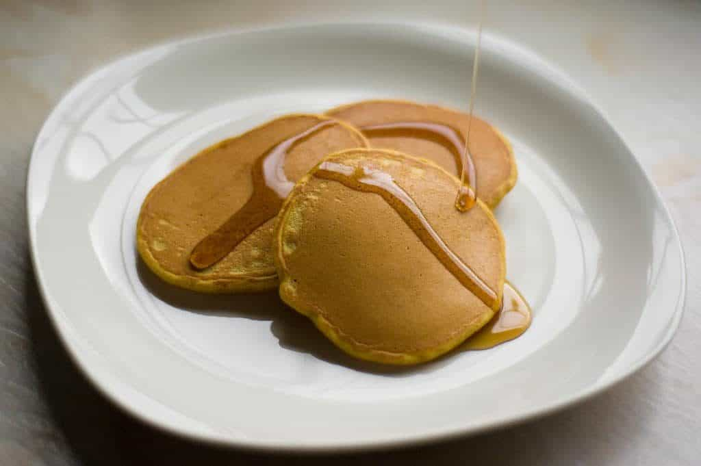 flour free gluten free pumpkin pancakes