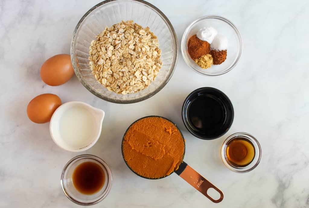gluten free pumpkin pancake ingredients