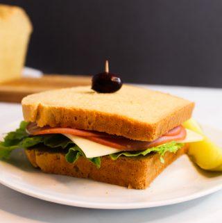 gluten free sandwich bread sandwich