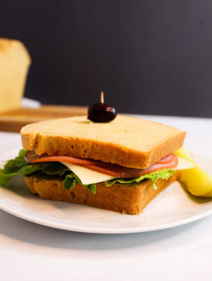 Best Ever Gluten Free Sandwich Bread