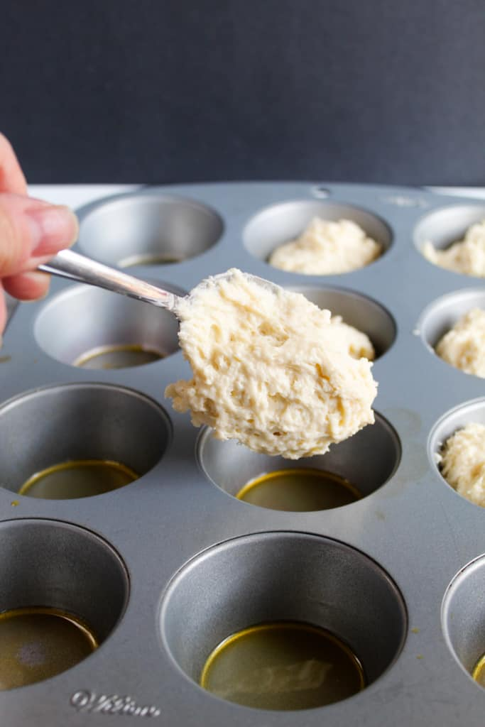 gluten free yeast rolls ready in under an hour in a muffin tin