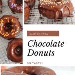 pin for chocolate donuts