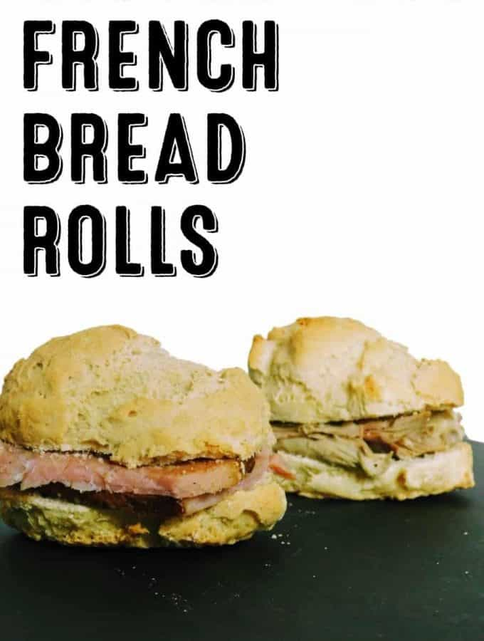 Gluten free french bread rolls