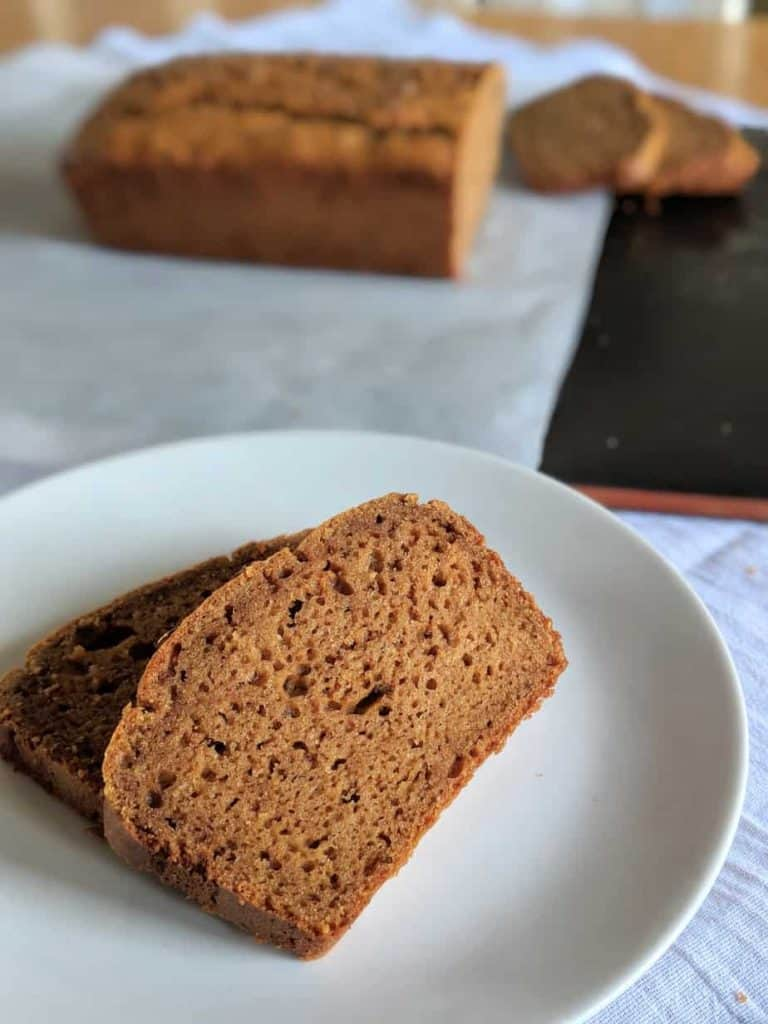 gluten free dairy free brown bread individual slices