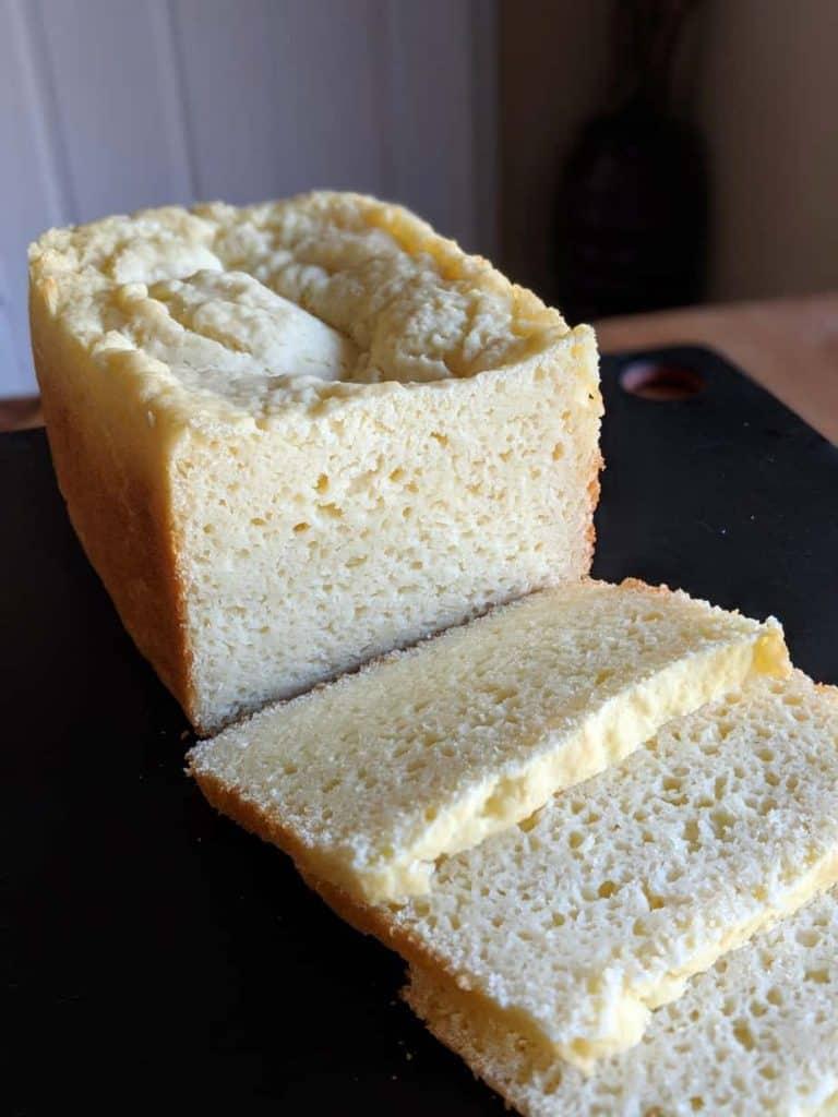 gluten free rice flour white bread bread machine 3