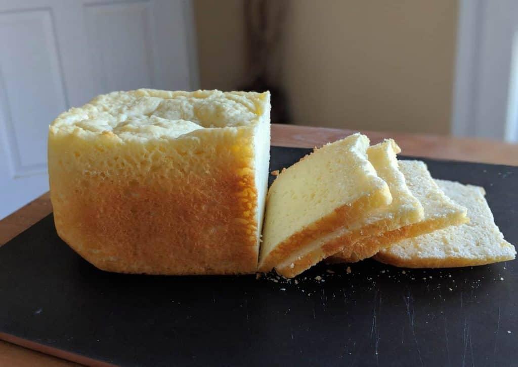 gluten free rice flour white bread bread machine 4