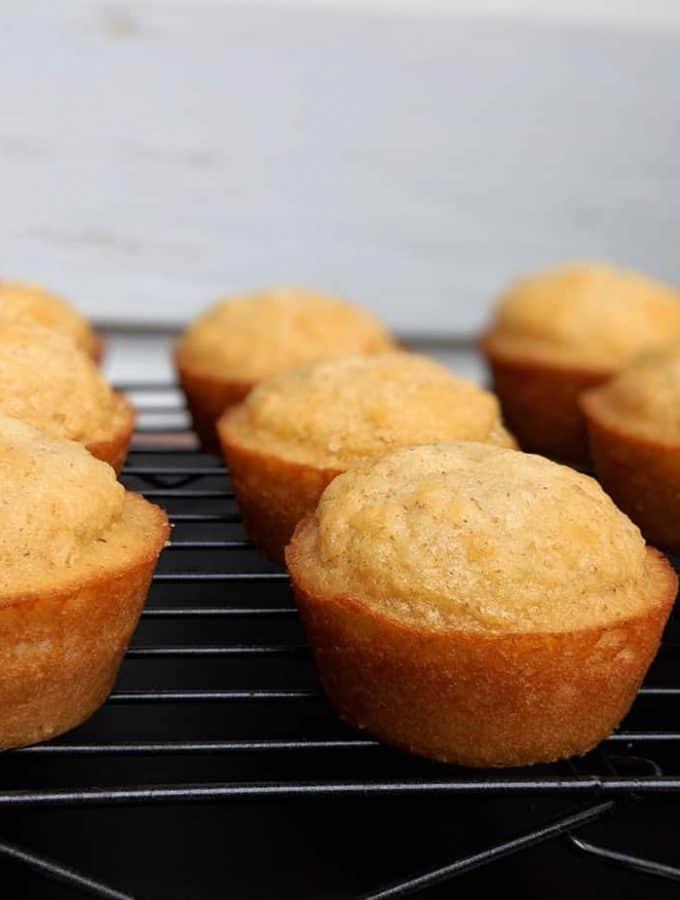 Simple Gluten Free Honey Muffins