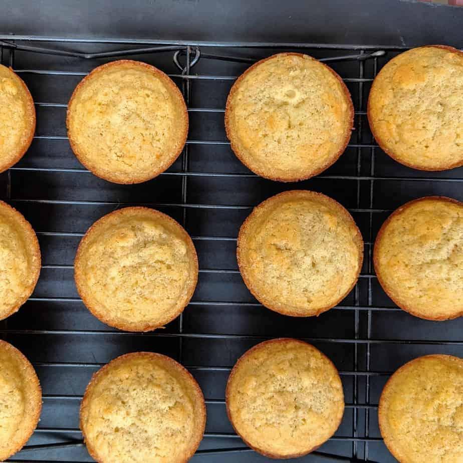 gluten free honey muffins baked