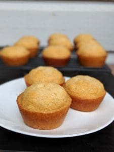gluten free honey muffins ready to eat 2