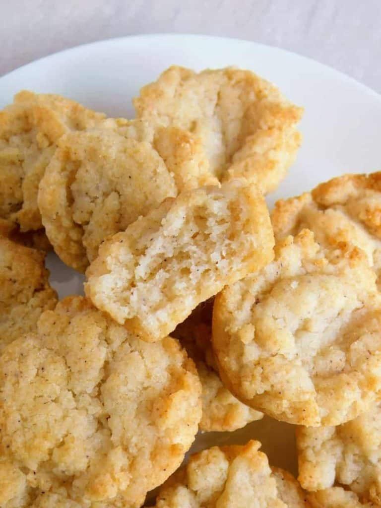 gluten free sour cream biscuits inside