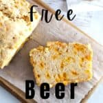 pin image of up close beer bread