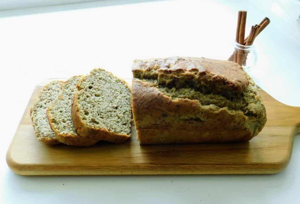 gluten free cinnamon quick bread omega 3