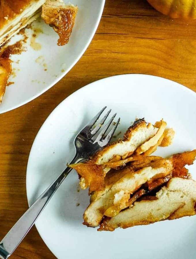 Gluten Free Apple Bread {Egg Free}