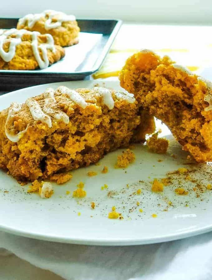 The Best Gluten Free Pumpkin Scones