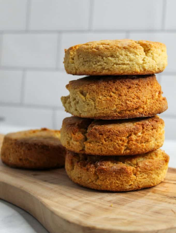 Almond Flour Biscuits: Grain Free & Low Carb