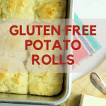 gluten free potato rolls up close