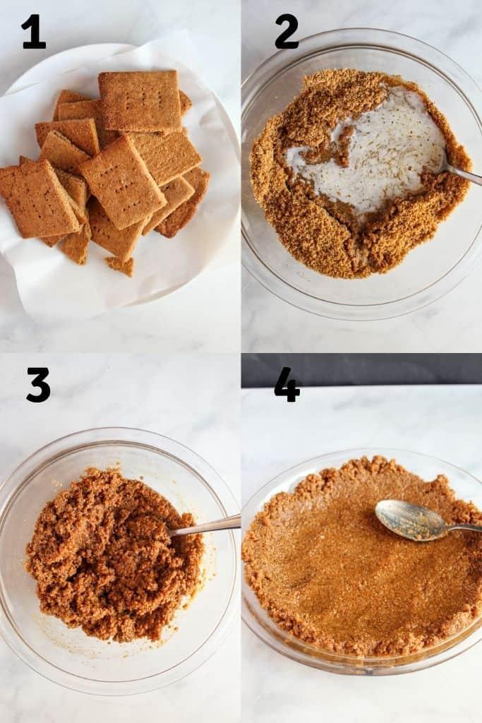 steps to preparing crust