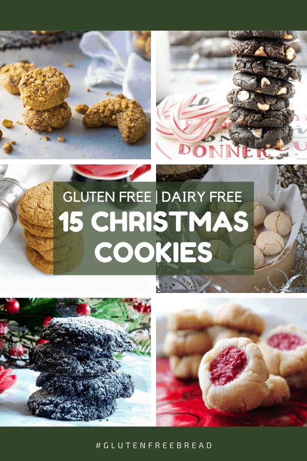 15 Gluten Free Dairy Free Christmas Cookies