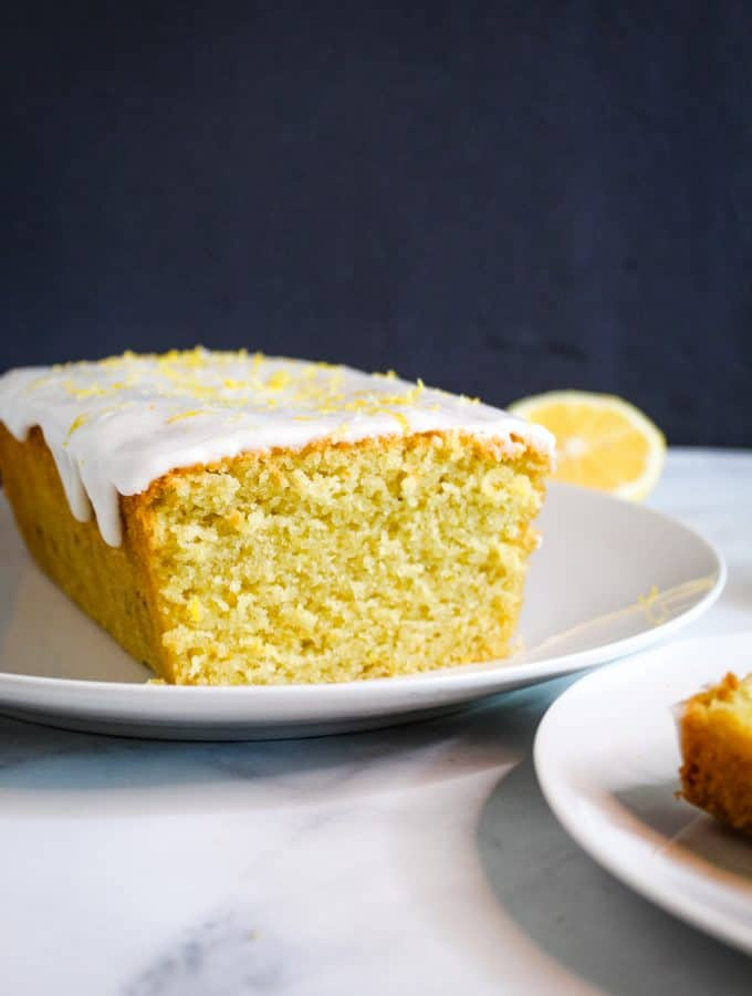 Gluten Free Lemon Pound Cake {Dairy Free}