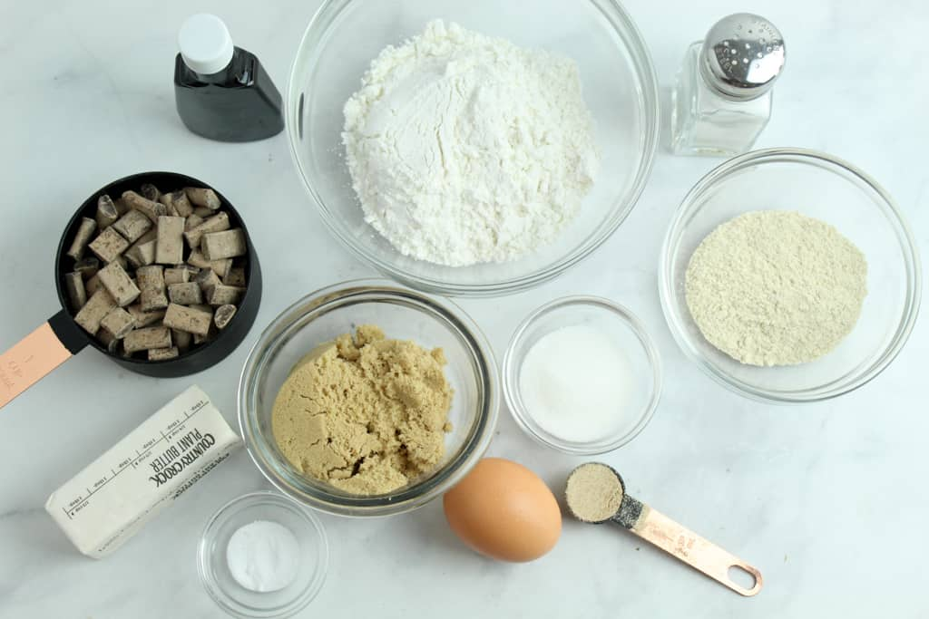 ingredients on a white countertop
