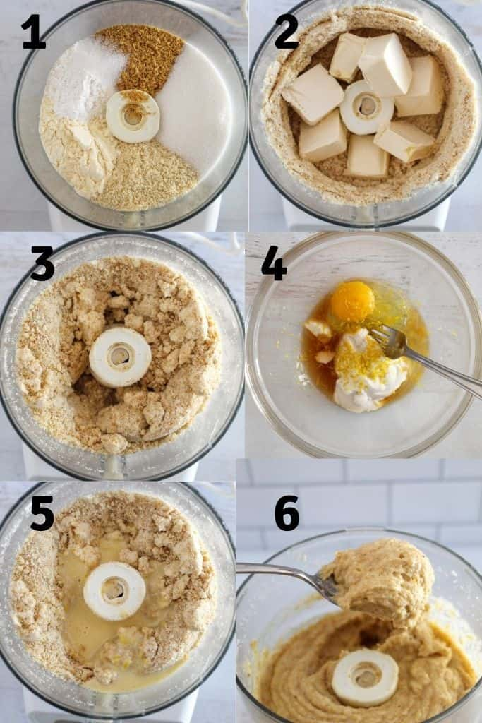 steps for making scones